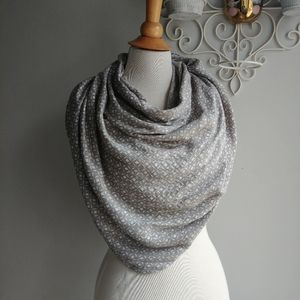 Geo Printed Simple Scarf